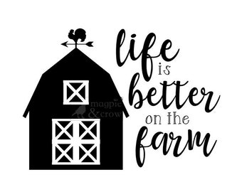Country life svg   Etsy