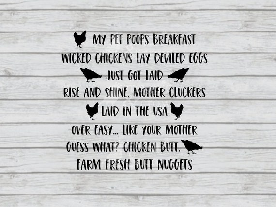 Chicken Phrases: Egg Container Sayings SVG Chicken Egg Quotes SVG Egg