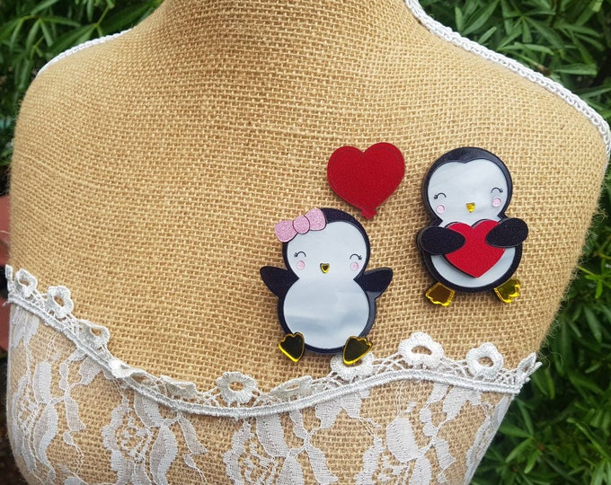Featured listing image: Penguin Brooches Limited Edition