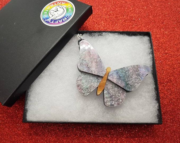 Featured listing image: Butterfly necklace