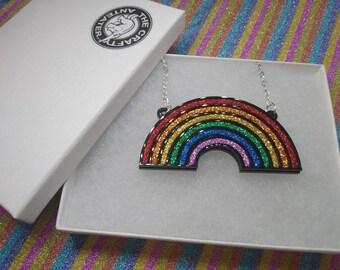 Rainbow Necklaces/Brooch