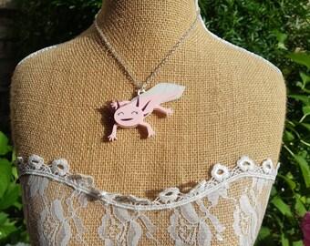 axolotl necklace