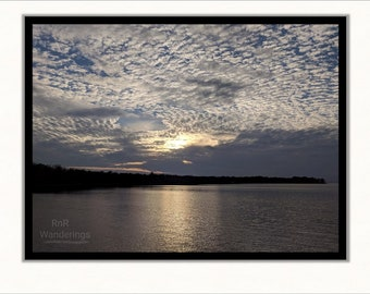 Sunset on Cooper Lake - Fine Art Print