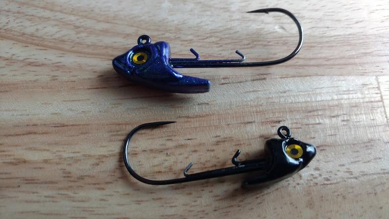 Swim Bait Swimbait Jig Heads Quantity of 2 Bass Tournament Largemouth  Fishing Jigs Custom Jigs