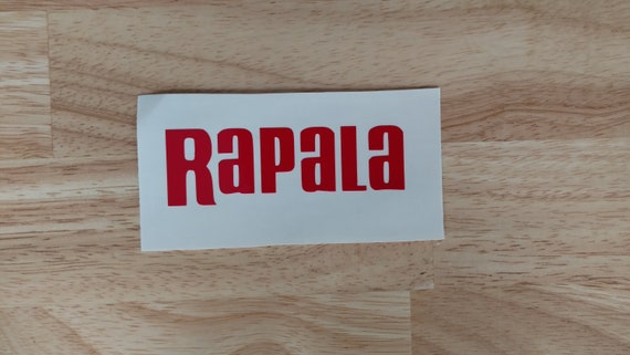 """Rapala Fishing Tackle lures boat Vinyl Car Decal window sticker 8/"""""""