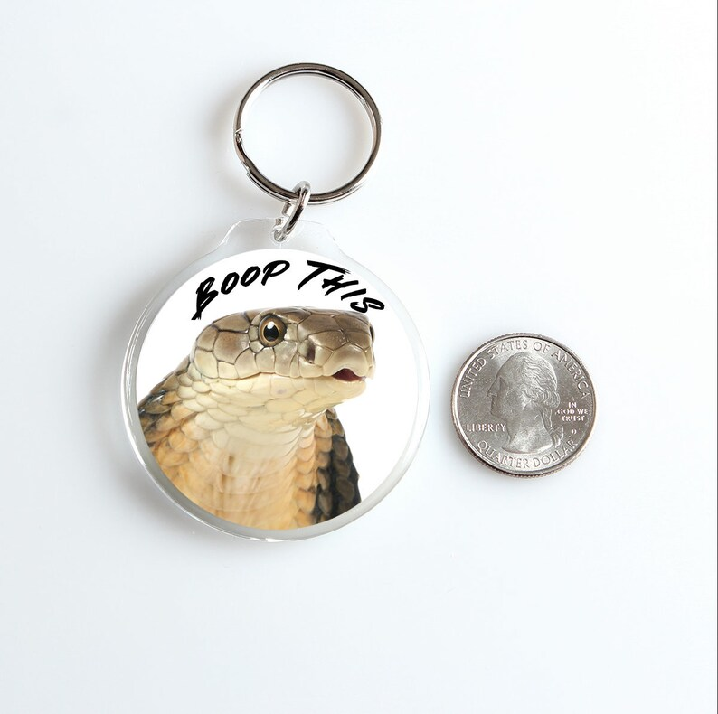 Boop This Keychain