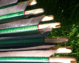 Authentic Medieval Arrows - Set Of 6