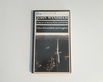 Tales of Gooseflesh and Laughter by John Wyndham (1966) sci-fi paperback, short story collection