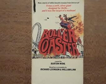 ROLLER COASTER by Burton Wohl (1977) Movie tie-in