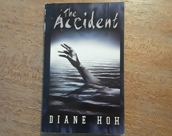 THE ACCIDENT by Diane Hoh (1991) YA horror, thriller paperback