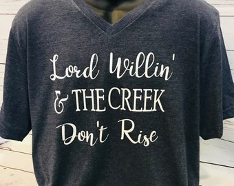 Creek Dont Rise Etsy