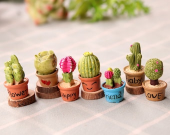 Potted Plant Decor Etsy