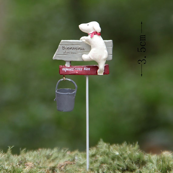 5x Miniature Flower Tree Plants Fairy Garden Decoration Dollhouse Craft Model