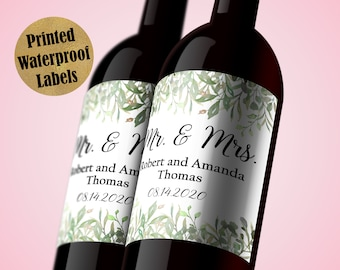 6 LARGE  88m HEN PARTY PERSONALISED GOLDEFFECT  Stickers //Labels