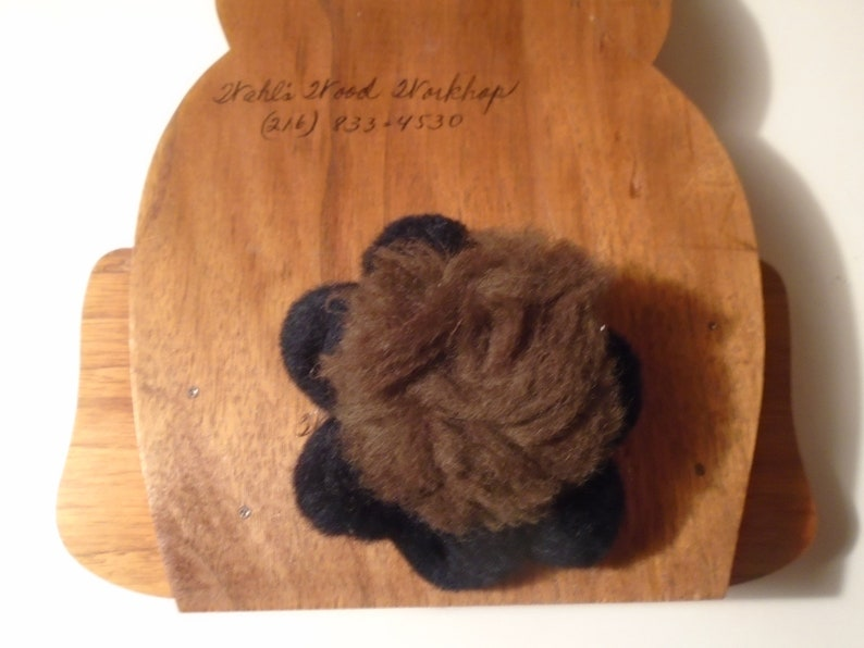 wood party bear 11/'/' tall pre owned clean made in usa clean