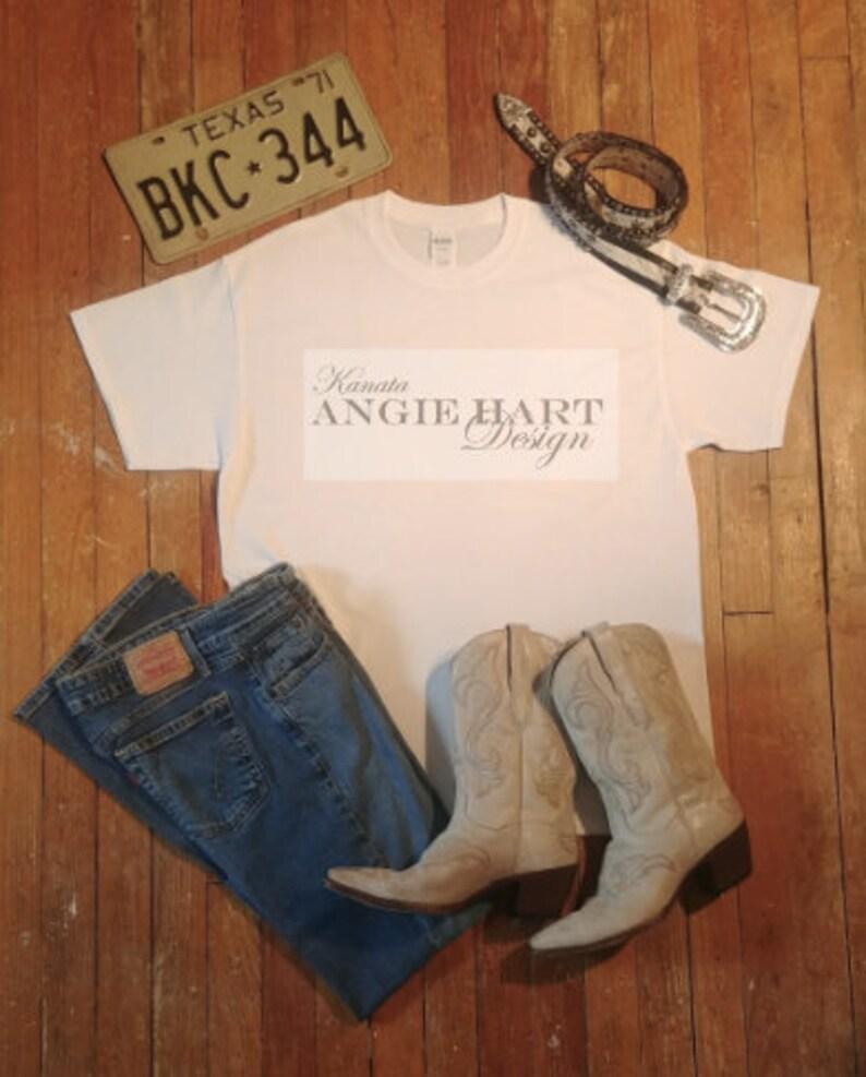T-Shirt Mock Up Clothing Mockups Shirt Digital Mockup Tee jpeg Instant Download TShirt Jeans Flat Lay White Gildan Mockup jpg