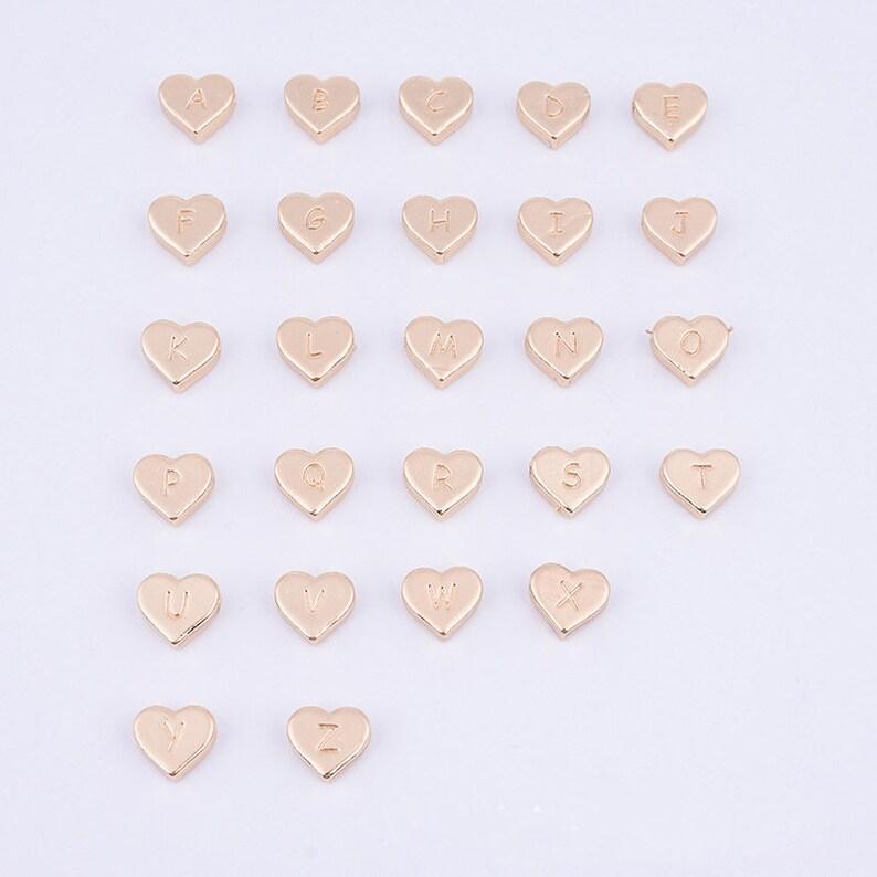 Party Decoration,Necklace pendants 3sets A-Z 26 English letters Alloy Pendant,Love Heart Pendant,Manual Alloy Accessories,Jewelry Pendant