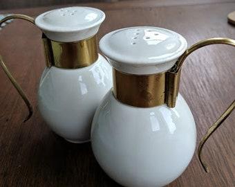 Mid Century Salt & Pepper Shakers