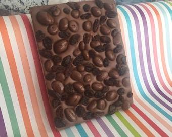 Belgian Chocolate Raisin Slab