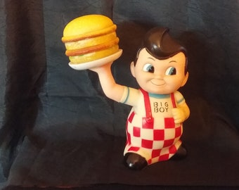 5527cb636c9 Bob s Big Boy Vintage Coin Bank with Double Hamburger