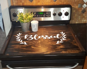 Stove Top Cover Etsy - Custom table pads 69 usd