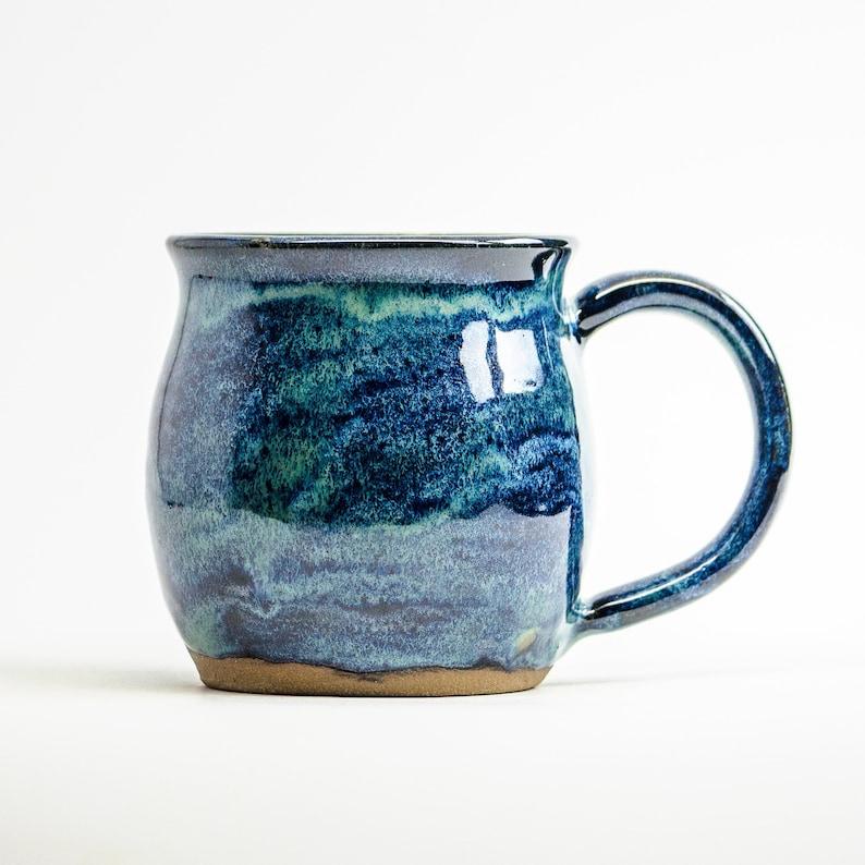 Mystique Stoneware Mug  personalized hygge pottery image 0