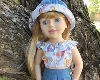 Summer Days Set For 18 to 20 Inch Dolls