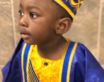 cf4e400af Boys Agbada Sets, Boys Grand Boubou Set, Traditional African Clothing for  Boys, Special occasion Oufit, african kids party outfit