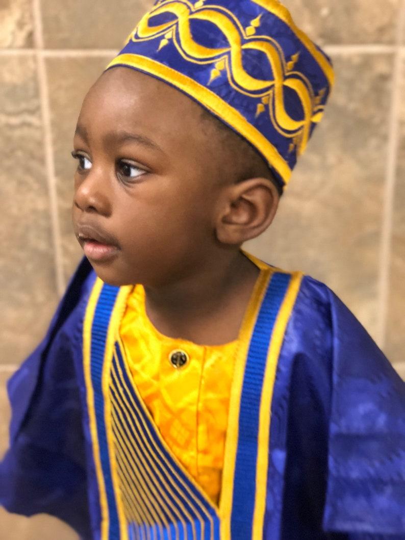 Boys Agbada Sets Boys Grand Boubou Set Traditional African Etsy