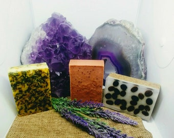 Natural Soap, Romantic Spa Gift Soap, Handmade Soap, Glycerin Soap, Vegan Soap, Gift for Her, Gift for Mom, Gift Ideas, Detox, Purifying