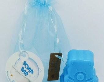 Natural Soap, Bear Baby Soap, Handmade Soap, Glycerin Soap, Vegan Soap, Coconut Oil, Argan Oil, Baby Shower Gift, Soap Favors, Juniper Berry