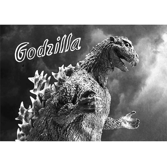 GODZILLA KAIJU Vintage Movie Scene Photo M3301 12 page A4 2020 Wall Calendar