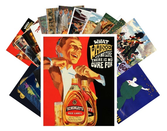 24 cards Postcards Pack Opera and Theatre Vintage Show Posters CC1089