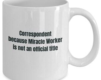 Correspondent gifts coffee travel cup mug gift men women