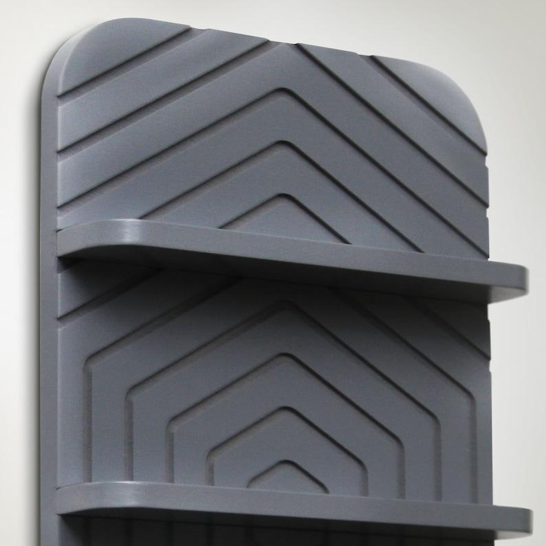 RDARTA Vape organizer stand atomizer holder gray base shelve