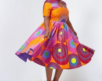 Jasmin Open Cut Dress