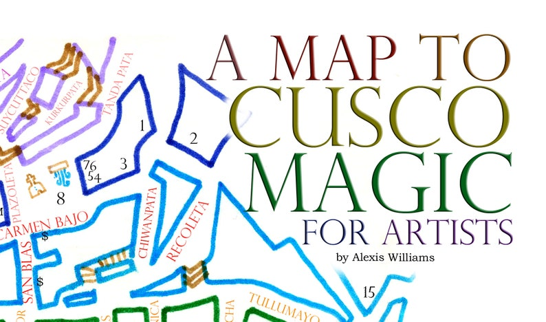 Map to Cusco Magic for Artists image 0