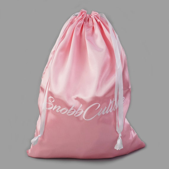 Set of 100 Drawstring pink satin jewelry pouch for prefect jewelry packing custom logo pouch favor and gift purpose bags logo bag