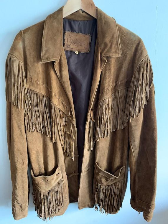 Vintage Suede fringe jacket - image 2