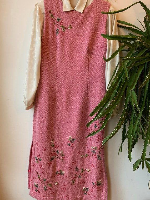 Oilily wool embroidered Dress