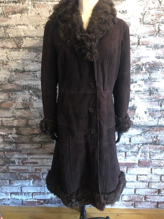 Sale!!!Brown Afghan coat - image 1