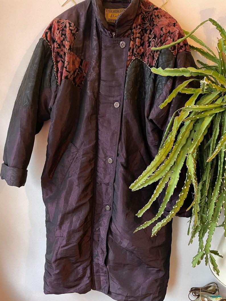 Vintage 1980s long coat