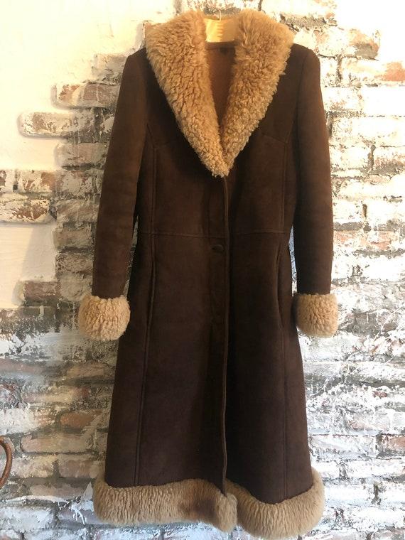 Bohemian Afghan coat