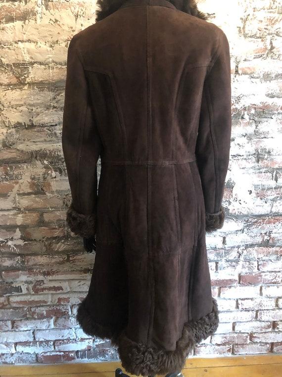 Sale!!!Brown Afghan coat - image 2