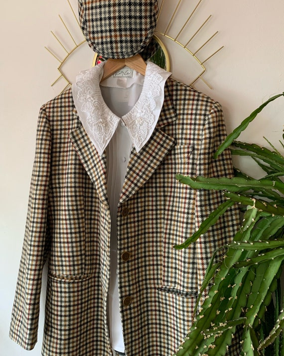 Vintage 1980s wool blazer