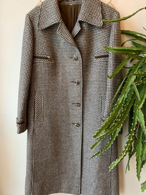 Vintage 1970s wool coat