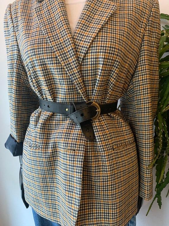 Vintage wool blazer 1980s