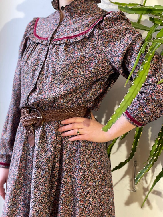 Vintage flower bohemian Dress