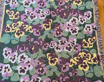 Vintage cotton woven plaid