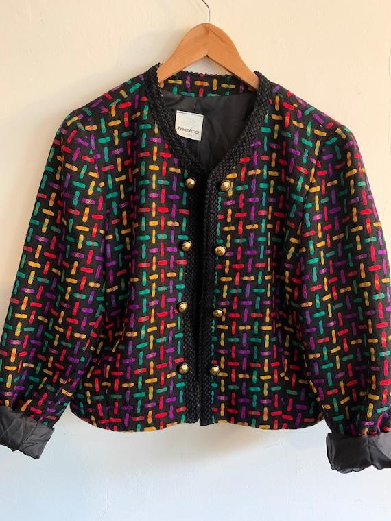 1980s vintage wool blazer
